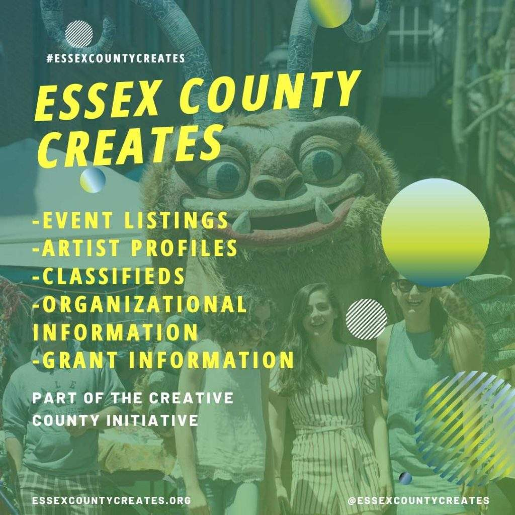 Essex COunty Creates graphics